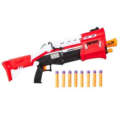 NERF Fortnite TS Blaster - Pump Action MEGA Dart Blaster