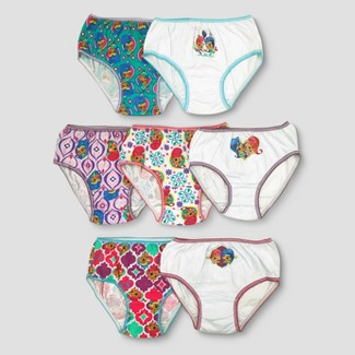 Girls' Nickelodeon Shimmer and Shine 7pk Bikini Briefs - 4