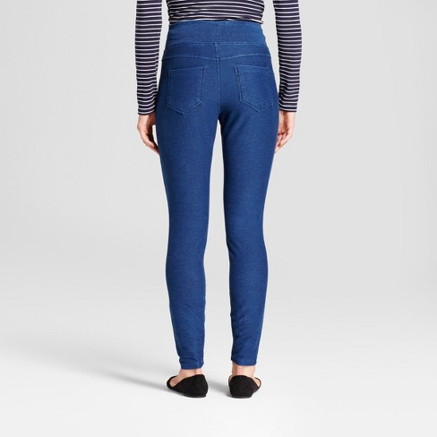 03736fe099aa4 Women's High Waist 5-Pocket Jeggings - A New Day™ Medium Washed Blue :  Target