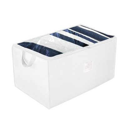 OSTO 2-Pack Large Seasonal Storage Organizer; Accessory Storage Bag for Bedding, Blanket, Comforters, and Seasonal Clothes; 29 Inch