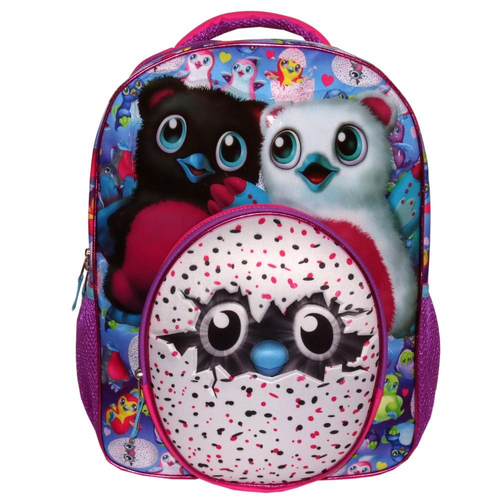 Spinmaster 16 Hatchimals Kids' Backpack - Purple
