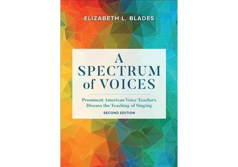 Spectrum of Voices : Prominent American Voice Teachers Discuss the Teaching of Singing -  (Hardcover) - image 1 of 1