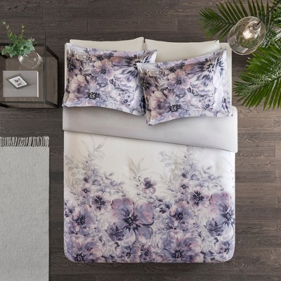3pc Slade Cotton Printed Duvet Cover Set