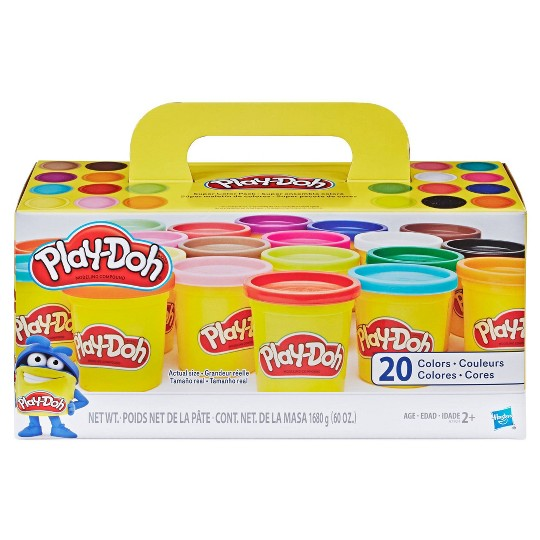 Play-Doh Super Color 20pk image number null