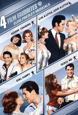 Elvis Presley Musicals: 4 Film Favorites (DVD)
