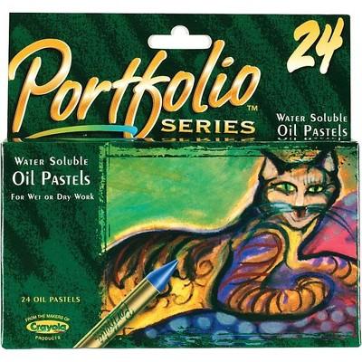 Crayola Portfolio Series Oil Pastels 24/Box 52-3624