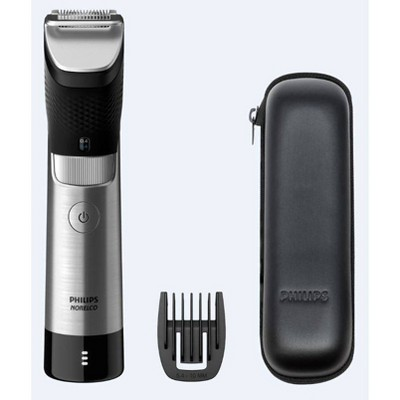 Philips Norelco Series 9000 Beard & Hair Men's Rechargeable Electric Trimmer - BT9810/40