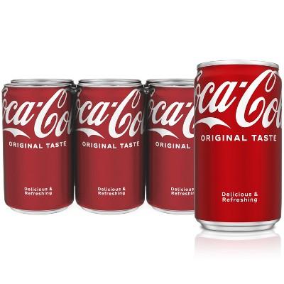 Coca-Cola - 6pk/7.5 fl oz Cans