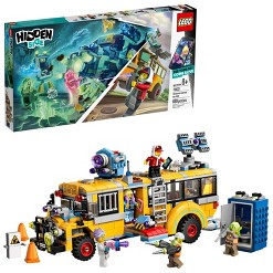 LEGO Hidden Side Paranormal Intercept Bus 3000 70423 Augmented Reality (AR) Building Kit 689pc
