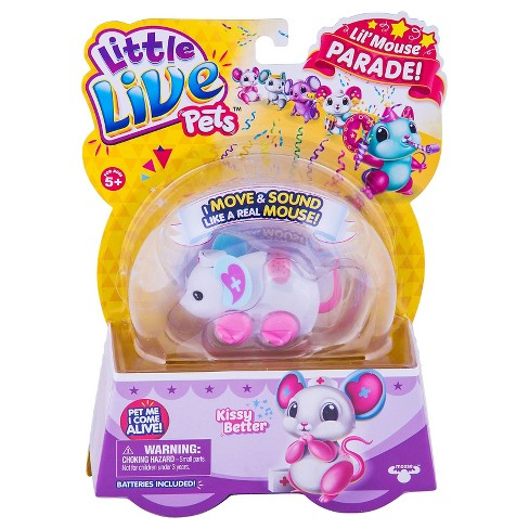 Little Live Pets™ Lil' Mouse - Kissy Better - image 1 of 5