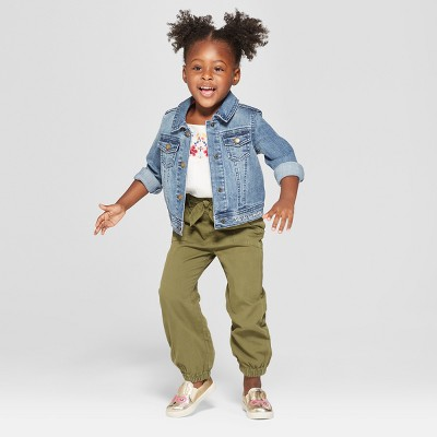 Toddler Girls' Joggers Pants - Genuine Kids® from OshKosh Orchid Leaf 12M