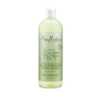SheaMoisture Body Wash Olive Oil and Green Tea - 19.8 fl oz