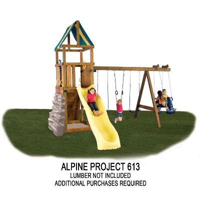 Swing-N-Slide Alpine DIY Playset Hardware Kit (Wood and Slide not included)