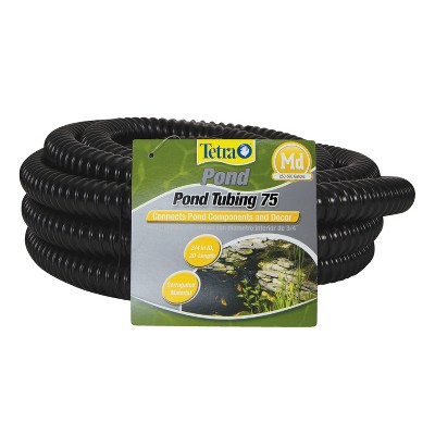 TetraPond Pond Tubing 3/4 Inch Diameter, 20 Feet Long, Connects Pond Components