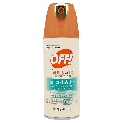 OFF! FamilyCare Insect Repellent I, Smooth & Dry, 2.5oz