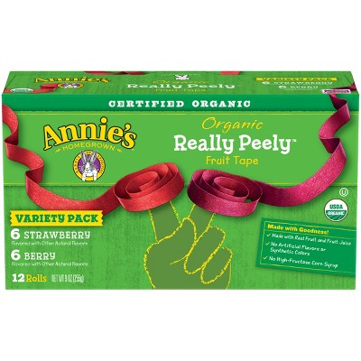 Fruit Snacks: Annie's Organic Really Peely