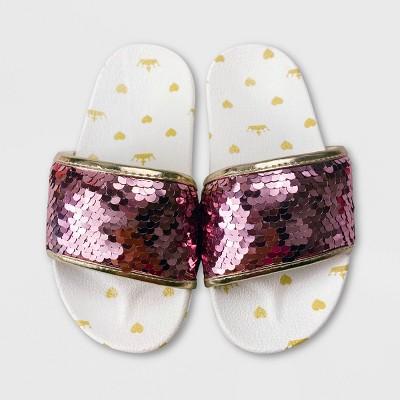 Girls' Disney Princess Slide Sandals - Yellow - Disney Store