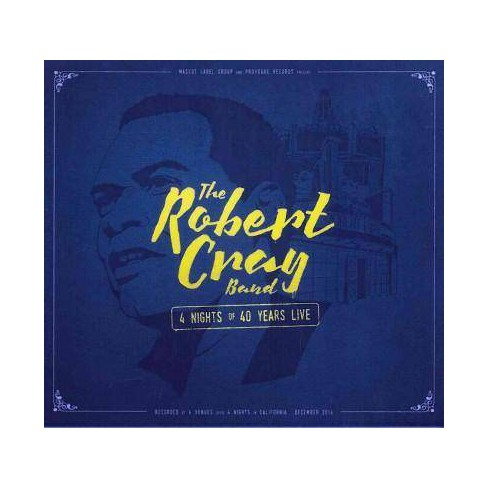 Robert Cray - 4 Nights Of 40 Years: Live (CD) - image 1 of 1