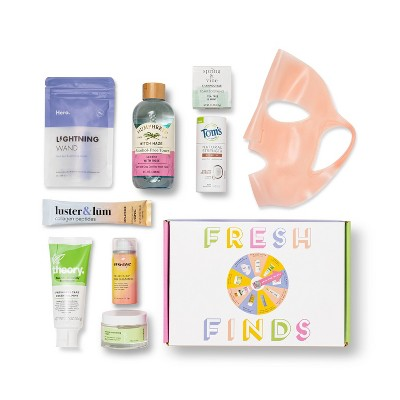 Target Beauty Capsule - Fresh Finds Bath and Body Gift Set - 9pc