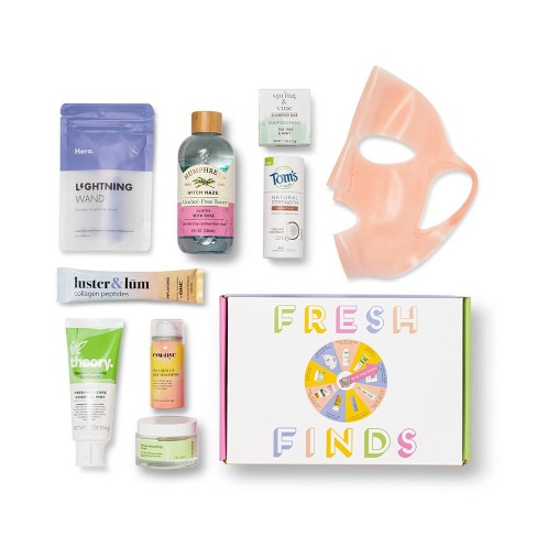 Target Beauty Capsule - Fresh Finds Beauty Sample Box - 9pc - image 1 of 4
