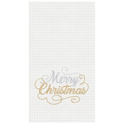 C&F Home Merry Christmas Glam Kitchen Towel