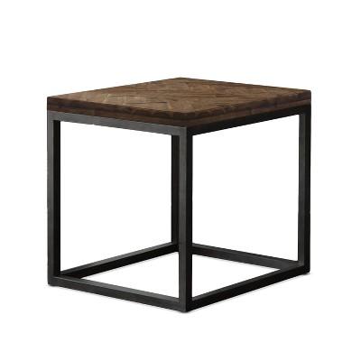 Lorenza End Table Metal Brown - Steve Silver Co.