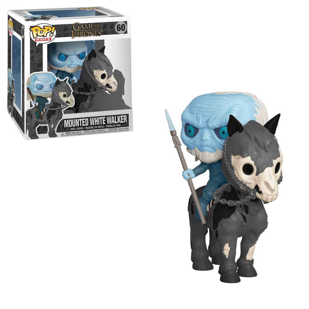 Image of Funko POP! Rides: Game of Thrones - White Walker on Horse