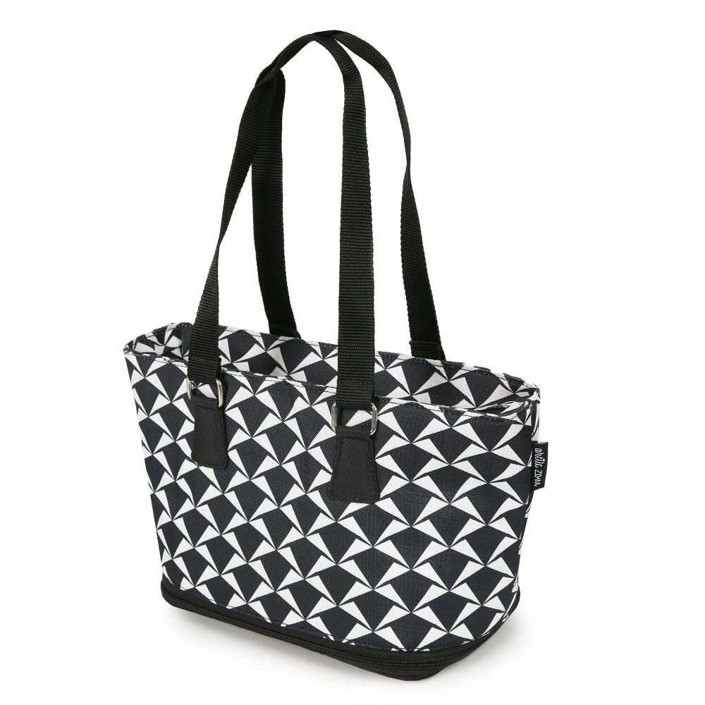 Image of Arctic Zone Andorra Expandable Lunch Tote - Crimp Geo