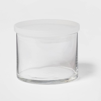 15oz Glass Small Stackable Jar with Plastic Lid - Made By Design™