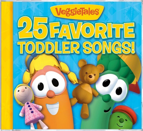 Veggie tales - 25 favorite toddler songs (CD) - image 1 of 1