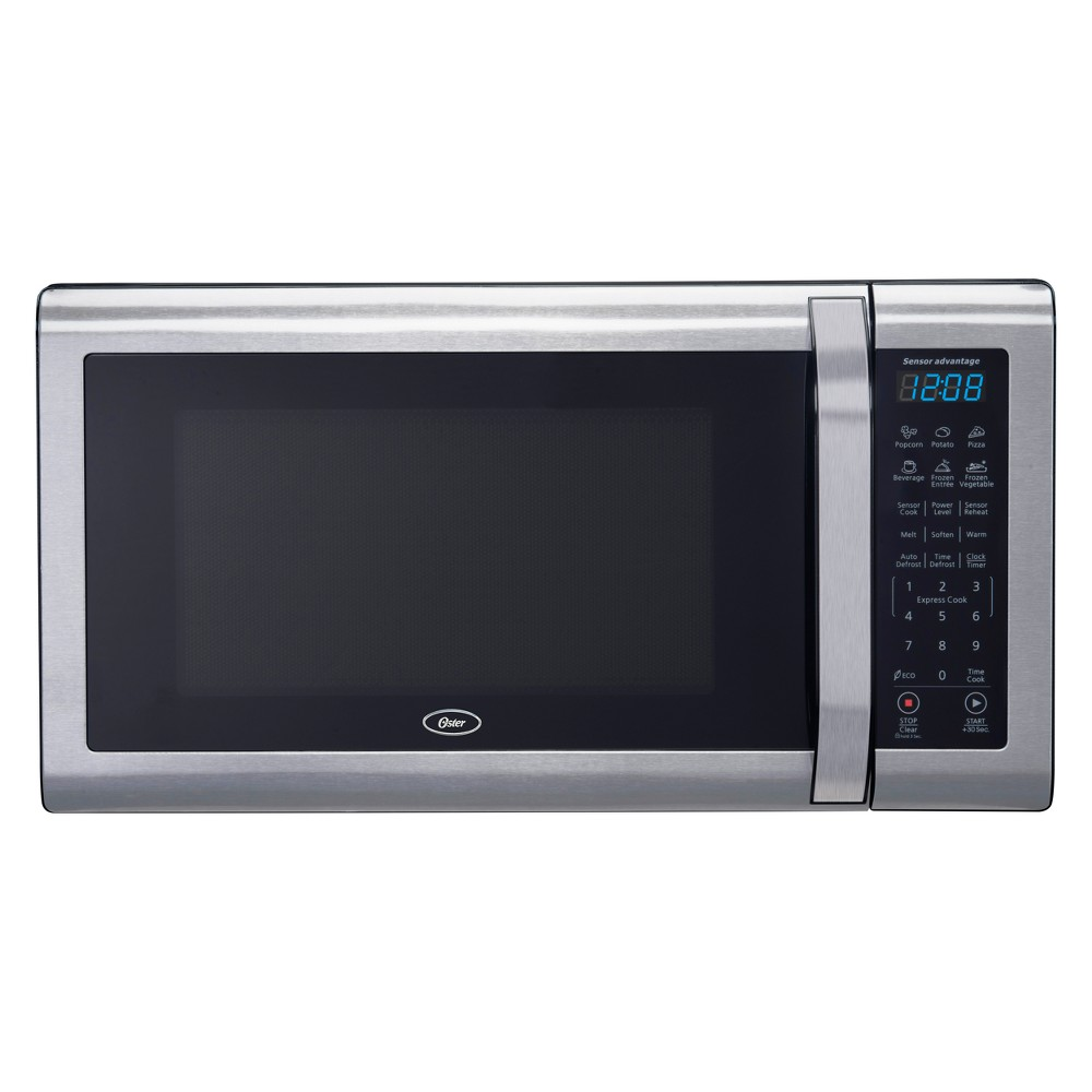 Oster 1.4 cu ft 1100W Microwave – Stainless Steel (Silver) OGCMWX14S2BS-11 53241430