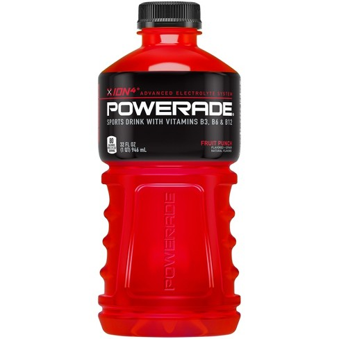 POWERADE Fruit Punch Sports Drink - 32 fl oz Bottle - image 1 of 2