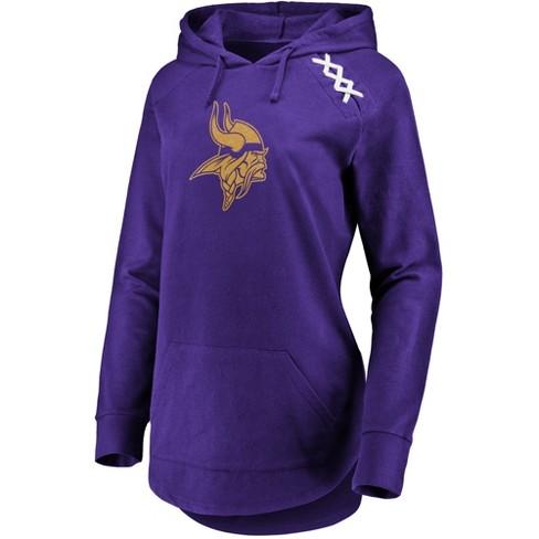 b0f3106ec NFL Minnesota Vikings Women s Leveraging Momentum Lightweight Hoodie ...