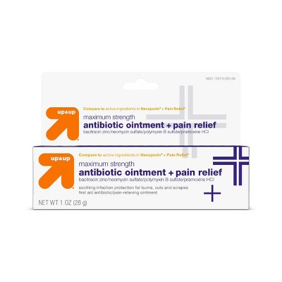 Antibiotic Maximum Strength Pain Relieving First Aid Ointment - 1oz - up & up™