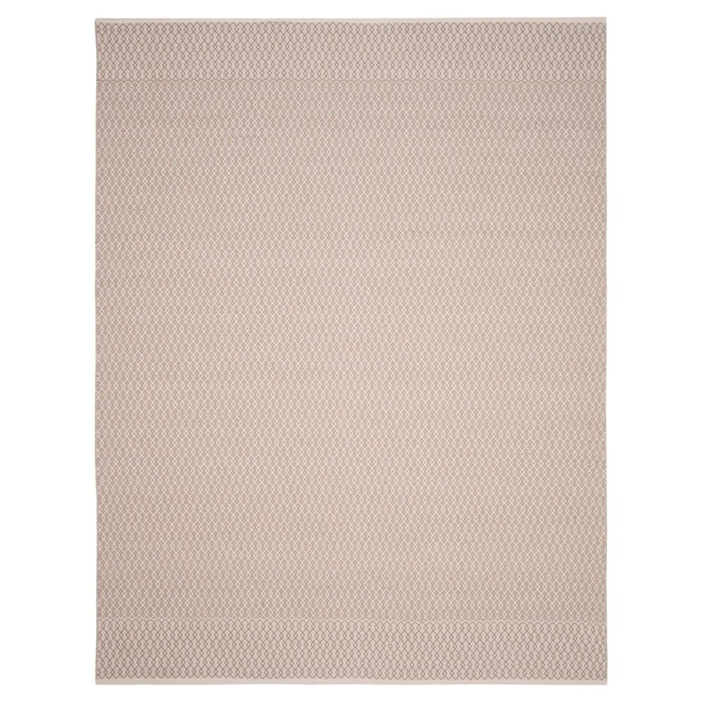 Ivory/Gray Abstract Woven Area Rug - (8'X10') - Safavieh