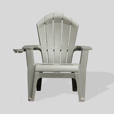 Deluxe RealComfort Adirondack Chair - Gray - Adams Manufacturing