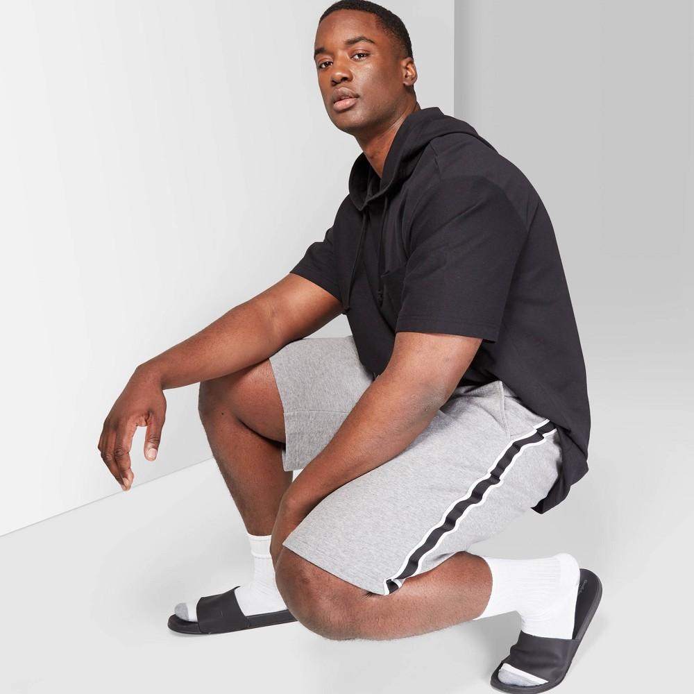 Men's Big & Tall 9 Mid-Rise Jogger Shorts - Original Use Gray 5XBT