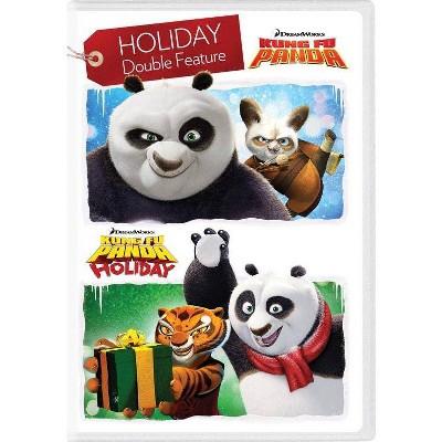 Kung Fu Panda / Kung Fu Panda: Holiday (DVD)(2018)