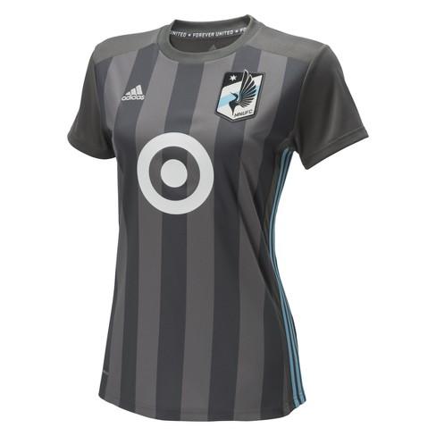 Women s Minnesota United Adidas Soccer Jersey   Target d709ebf1d