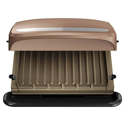 George Foreman 4 Serving Grill - Copper