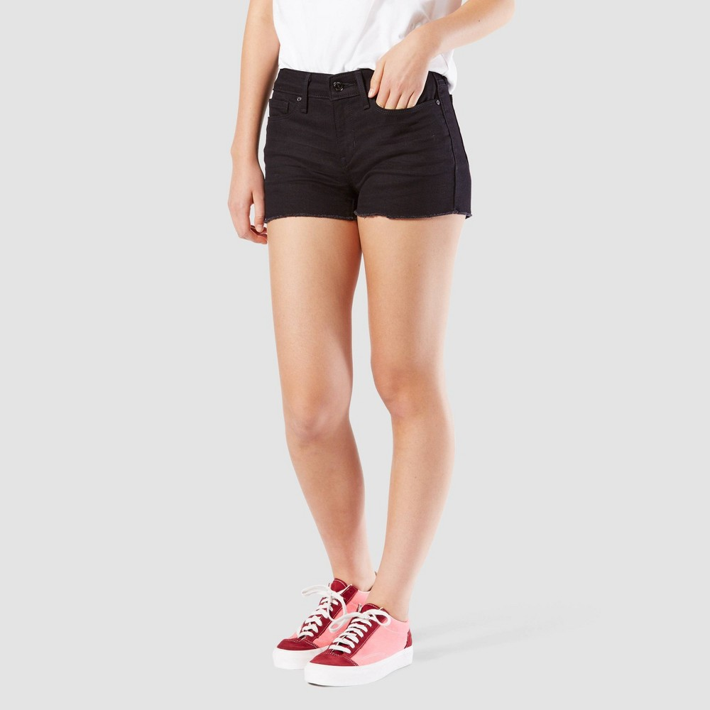 DENIZEN 174 from Levi 3 s 174 Women 3 s Low Rise Shortie Jean Shorts Juniors 3