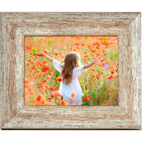 "8"" Digital Wood Frame Gray - Polaroid - image 1 of 4"