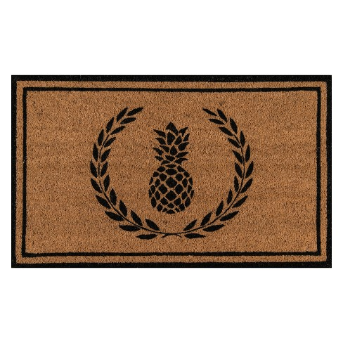 Park Pineapple Coir Doormat - Erin Gates by Momeni - image 1 of 3