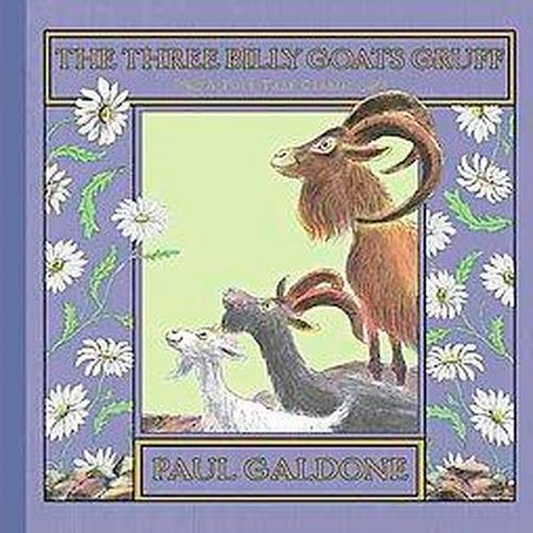 Three Billy Goats Gruff (School And Library) (Paul Galdone) - image 1 of 1