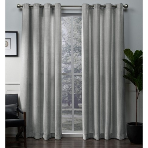 Winfield Curtain Panel - Exclusive Home - image 1 of 7