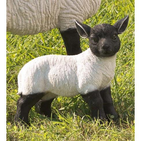 Standing Lamb Suffolk Sheep Garden Statue - Plow & Hearth - image 1 of 2