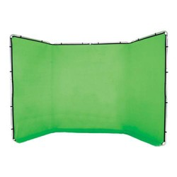Lastolite Panoramic 13' Background, Chroma Key Green - Fabric and Frame