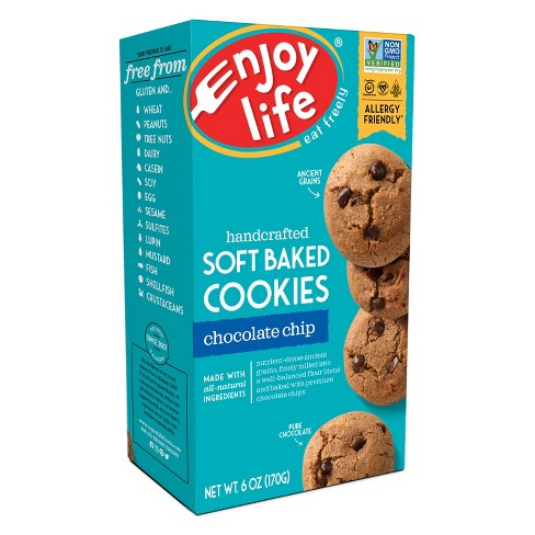 Enjoy Life Foods Gluten Free, Allergy Friendly Chocolate Chip Soft Baked Cookies - 6oz - image 1 of 1