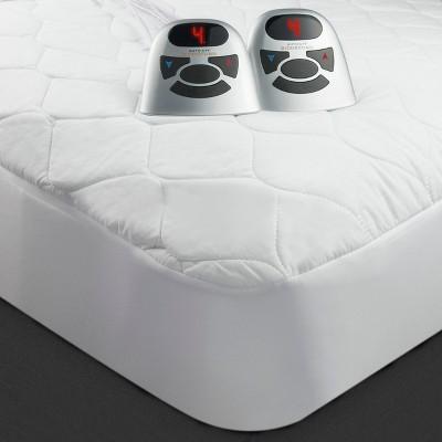 Quilted Heated Mattress Pad (Queen)Natural - Biddeford Blankets