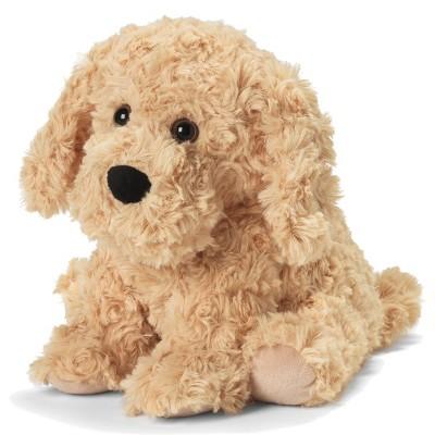 "Intelex Warmies Microwavable Plush 13"" Golden Dog"
